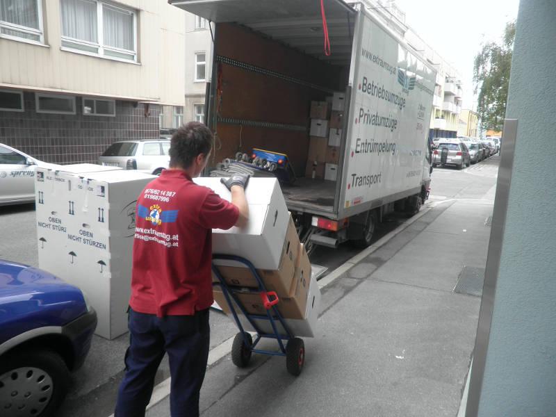 Umzug von Wien nach Graz mit Umzugsprofis