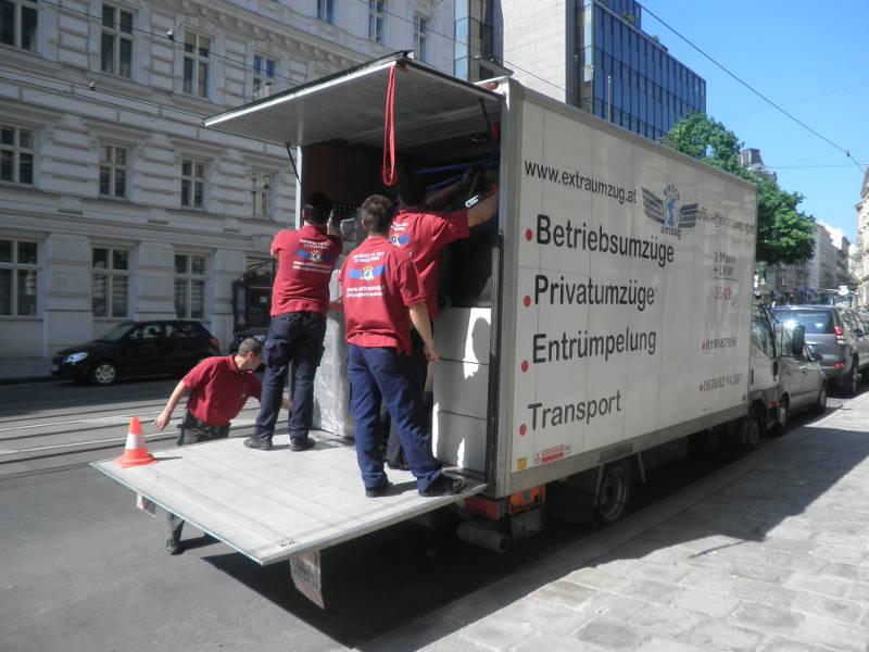Umzug von Wien nach Salzburg günstig